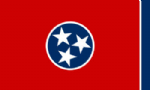 Tennessee State Large Flag - 5' x 3'.